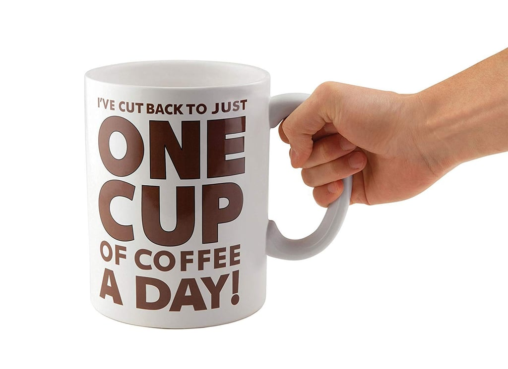 Giant Coffee Mug on Amazon