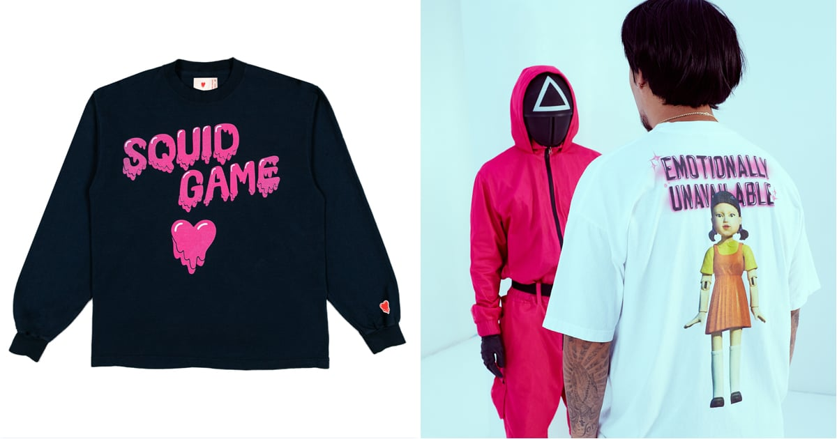 Squid Game Streetwear Merch Has Arrived, Because It Was Only a Matter of Time.jpg