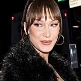 Bella Hadid Bangs 2019
