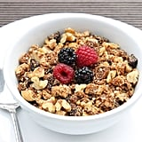 Quinoa Granola With Olive Oil and Maple Syrup