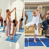 During yoga class, which is more embarrassing?