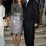 Carine Roitfeld and Sidney Toledano