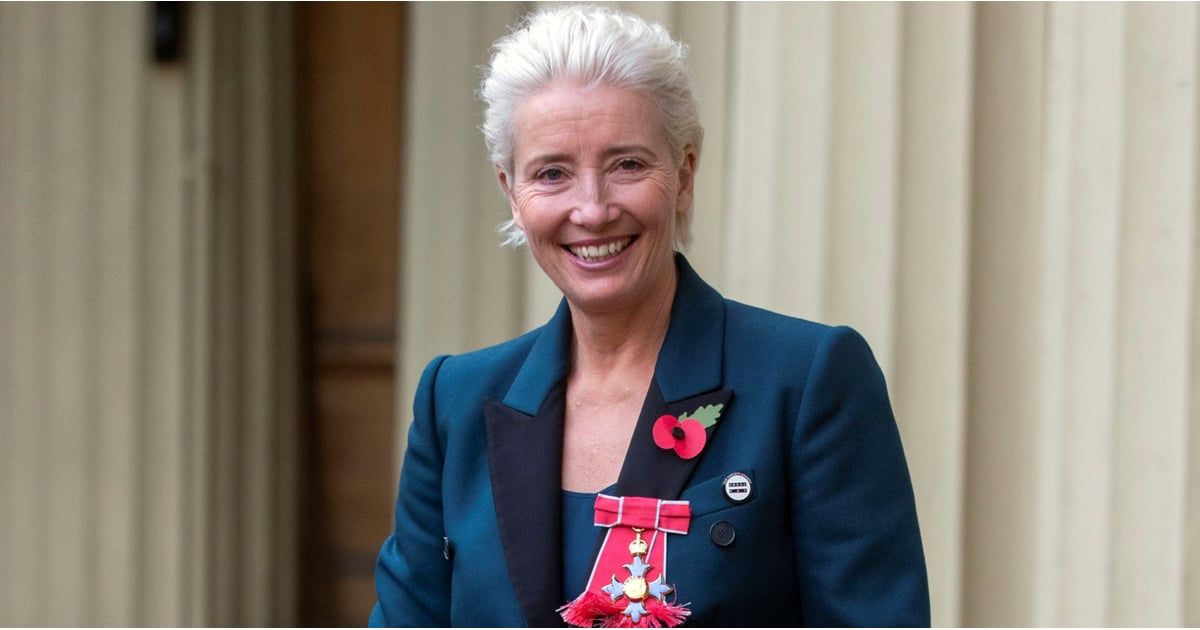 Emma Thompson Wore Trainers to Buckingham Palace, Because There is Nothin' Like a Dame