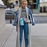 Style Them With a Superlong Scarf