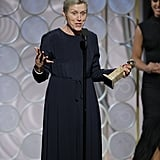 """We've been here a long time, and we need some tequila."" — Frances McDormand on the length of the award show while accepting her award for best actress for Three Billboards Outside Ebbing, Missouri."