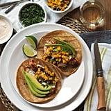 Fish Tacos With Greek Yogurt Crema
