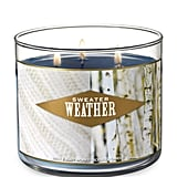 Sweater Weather Three-Wick Candle