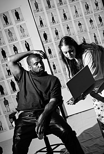 Kanye West Talks About His Yeezy Collection in WSJ. Magazine