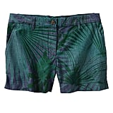 Gap Sunkissed Palm Print Chambray Shorts
