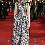 Lucy Boynton at the World Premiere of Murder on the Orient Express