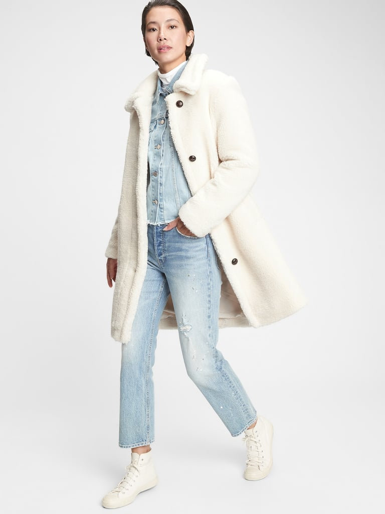 Gap Sherpa Overcoat