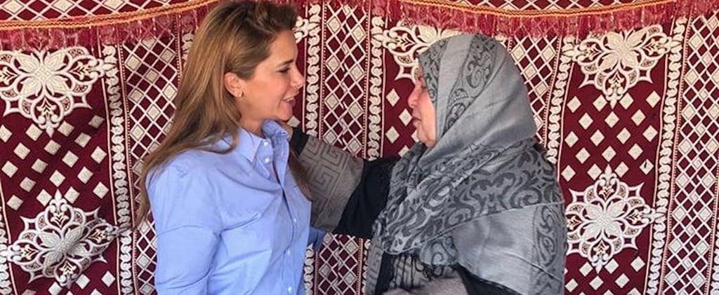 سموّ الأميرة هيا تواصل مساعيها بدعم الأعمال الخيريّة عبر إرسال شحنة إغاثيّة كبيرة إلى هذه الدولة