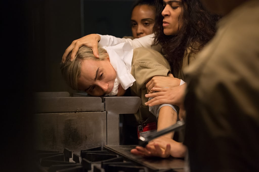 What did Piper (Taylor Schilling) do to piss off Blanca (Laura Gómez)?!