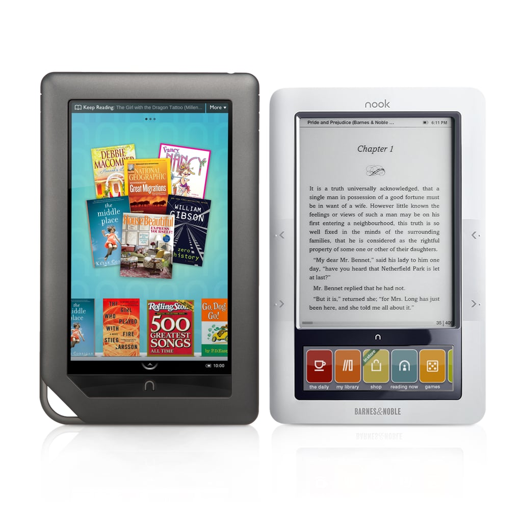 Photos of the Nook Color