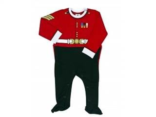 this sweet guardsman sleep suit 22 is exclusive to the royal british royal baby gifts and. Black Bedroom Furniture Sets. Home Design Ideas