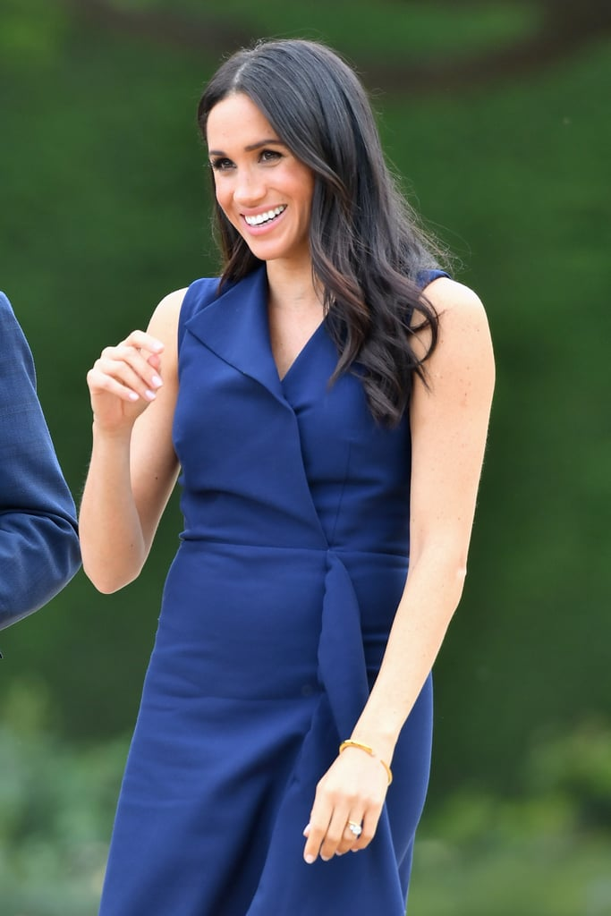 Meghan Markle Wears Dion Lee Dress October 2018