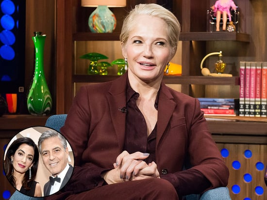 Amal Clooney 'Takes Great Care' of George, Ellen Barkin Says
