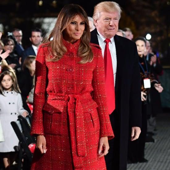 Melania Trump Red Chanel Coat