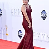 Julia Louis-Dreyfus showed off her curves.