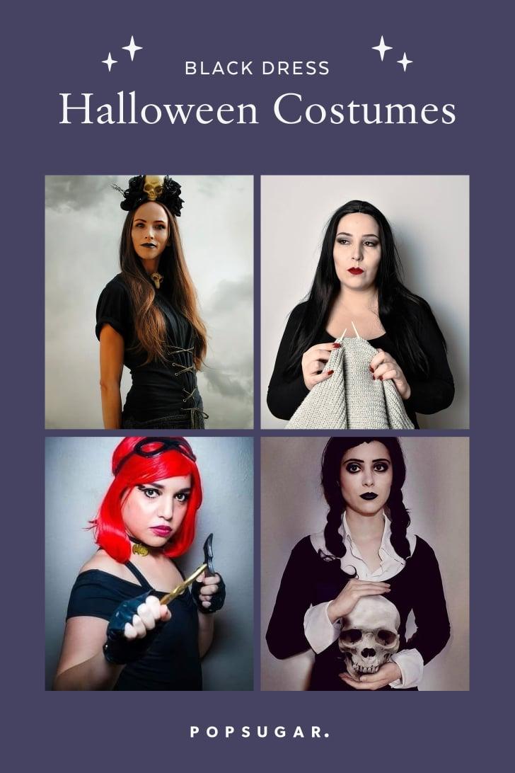 Black Dress Halloween Costumes