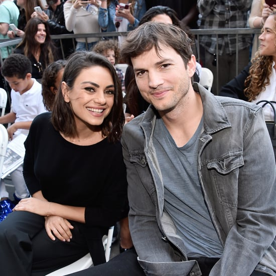Ashton Kutcher, Mila Kunis Kids' Sign For Front-Line Workers