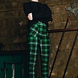 Harry Potter Tartan Slytherin Cuffed Pants