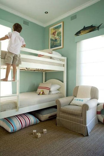 Coastal Boy Bunk Bed Bedroom