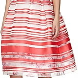 Kay Unger New York Sleeveless Striped Floral Dress ($540)