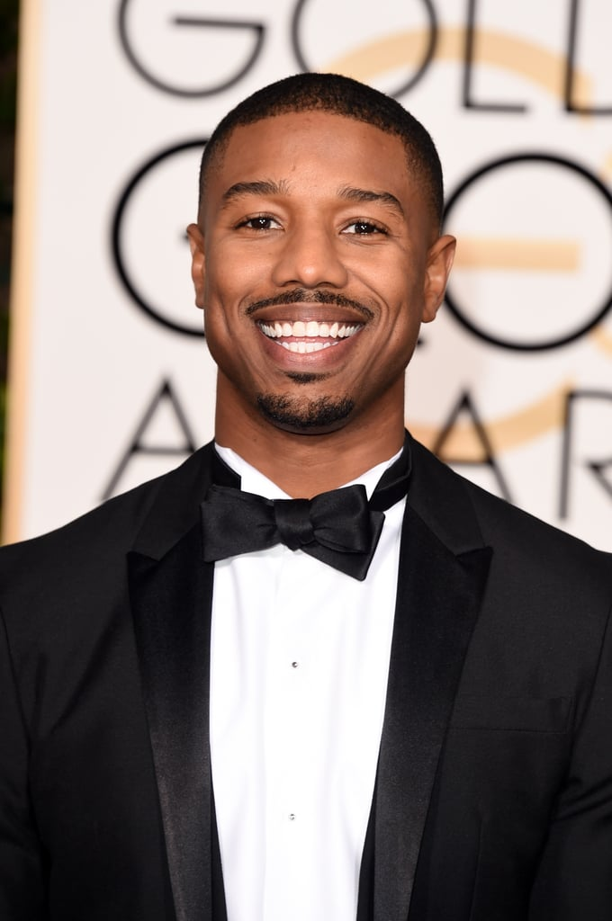 The actor flashed his megawatt smile at the Golden Globes in 2016.