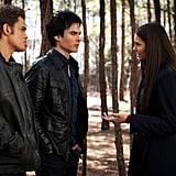 The Trio in The Vampire Diaries