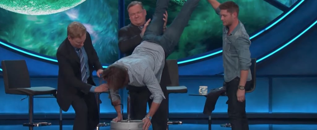 Jensen Ackles Surprises Jared Padalecki With a Keg Stand For His Birthday
