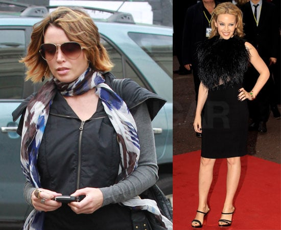 Pictures of Kylie Minogue and Dannii Minogue