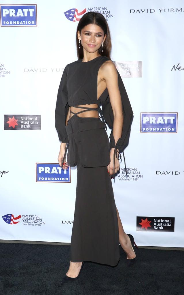Zendaya at the AAA Arts Awards