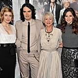 Greta Gerwig, Russell Brand, Helen Mirren and Jennifer Garner