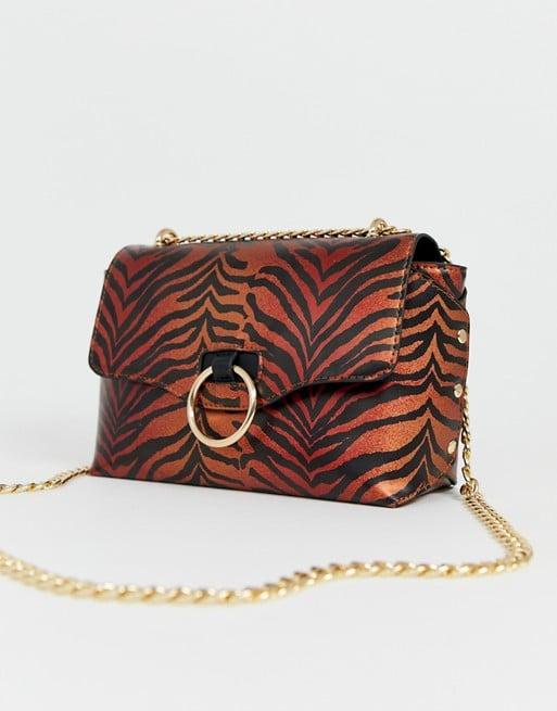 Skinnydip Casey Metallic Tiger Shoulder Bag ($36)