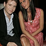 Nicky Hilton and Kevin Connolly