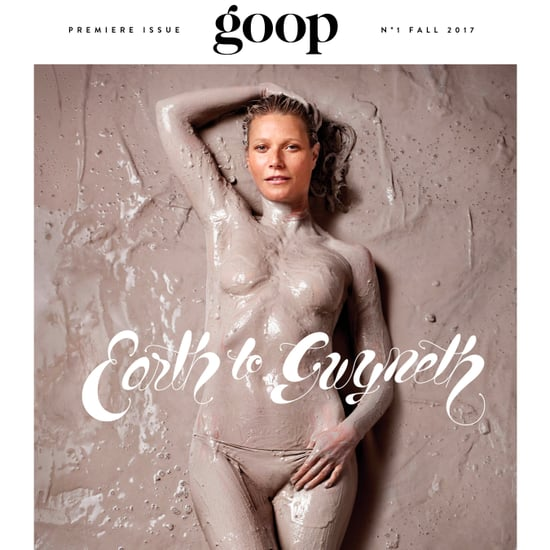 Gwyneth Paltrow on Goop Magazine Cover