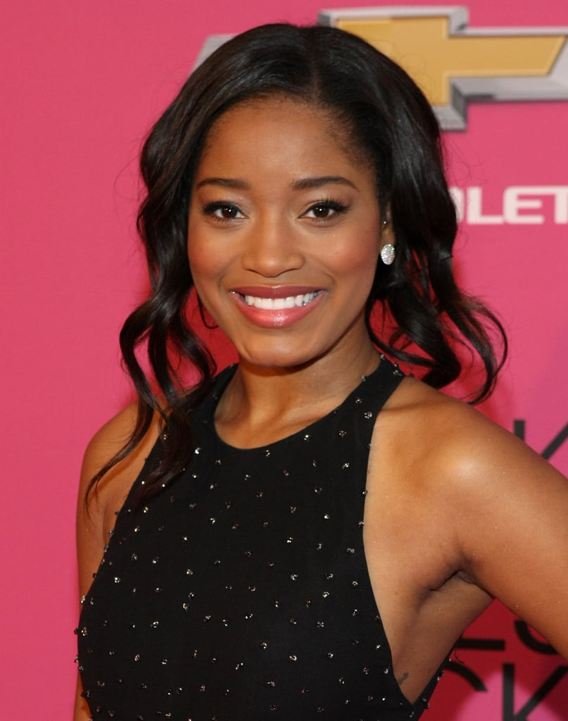 Keke Palmer opted for a piecey, playful up 'do.