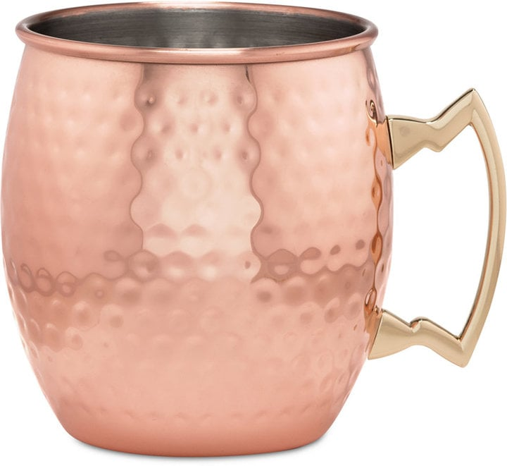 Thirstystone Hammered Copper Moscow Mule Mug