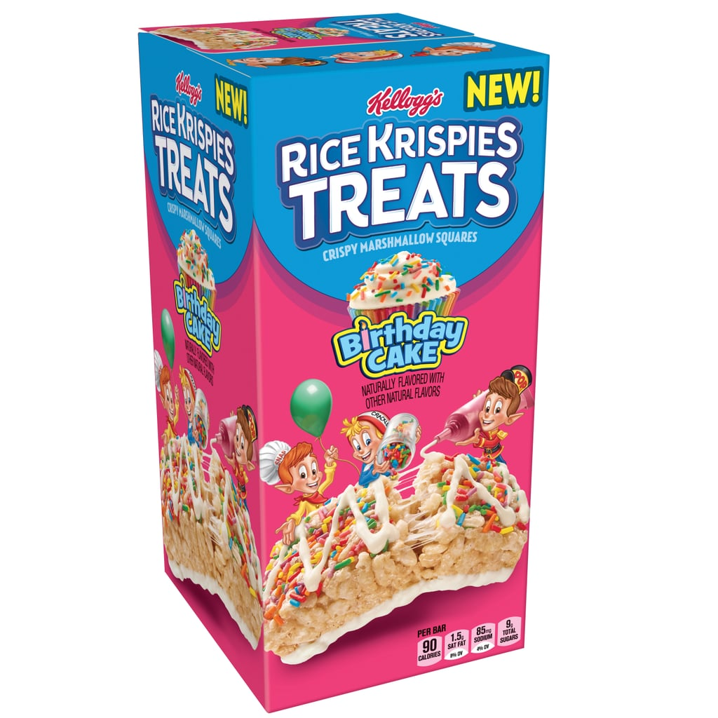 Birthday Cake And Cookies And Creme Rice Krispies Treats Popsugar Food