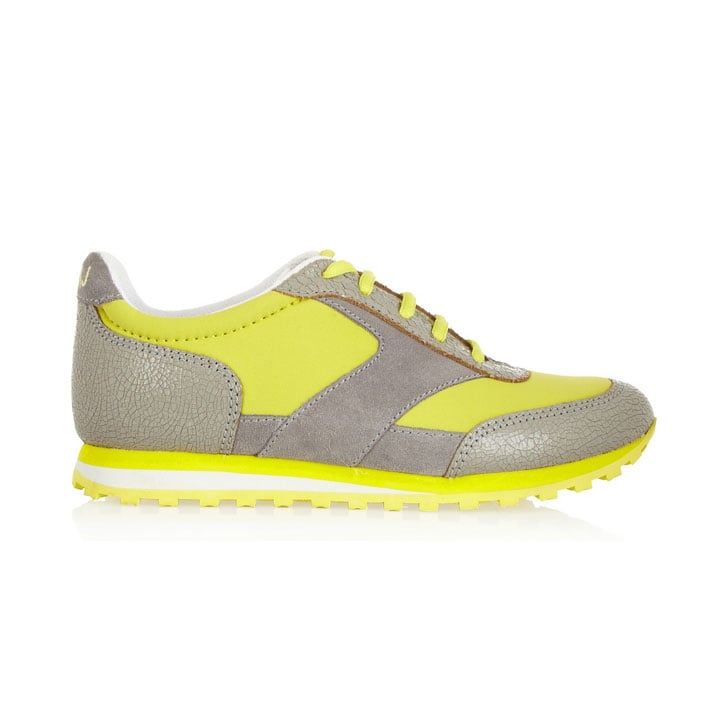 Marc by Marc Jacobs Patent Leather Neoprene Sneakers, approx $128. Stockists: Net-a-Porter