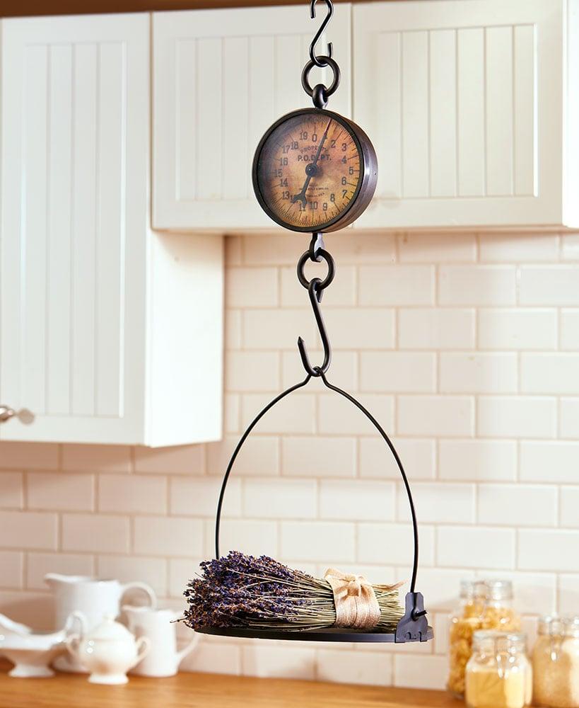 Decorative Antiqued Farmhouse Scale