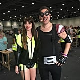 Comedian and Silk Spectre From Watchmen