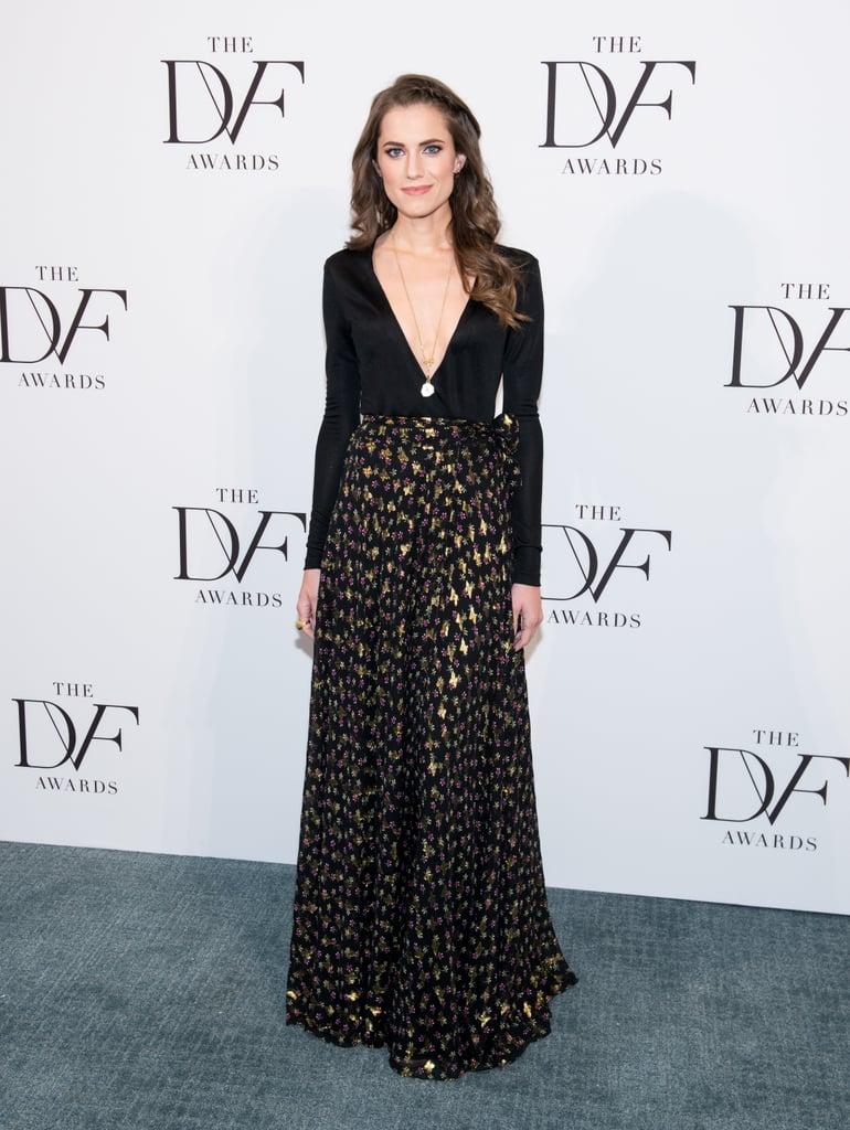 Allison Williams Dress at DVF Awards 2016