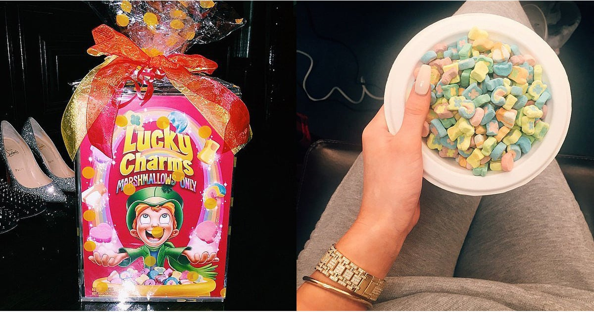 Kylie Jenner S Lucky Charms Marshmallows Only Box