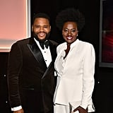 Pictured: Anthony Anderson and Viola Davis
