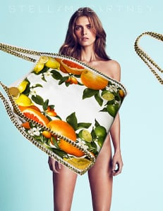 The Latest Spring 2011 Ads — Joan Smalls and Malgosia Bela for Stella McCartney, Erin Wasson for Elie Saab, Plus More