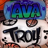 Airbrushed Suishy Pillows