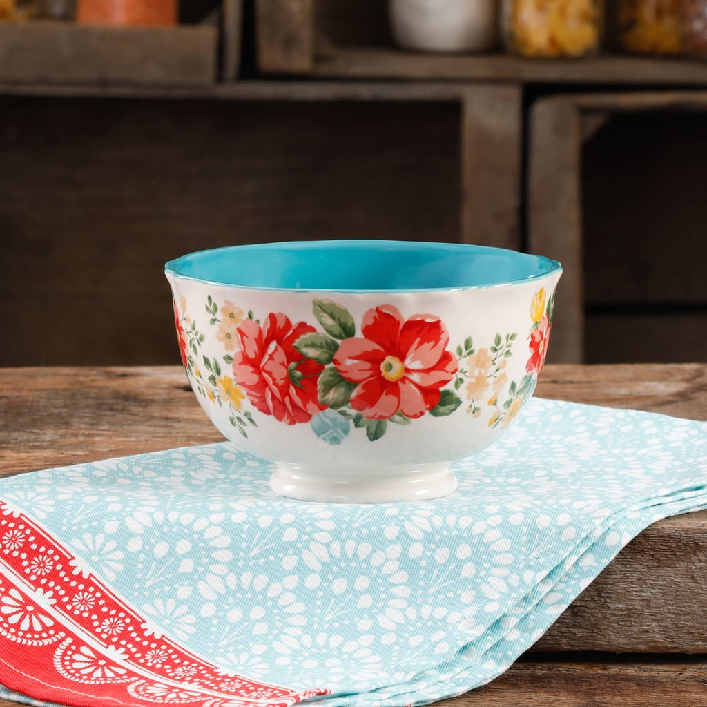 "The Pioneer Woman Vintage Floral 6"" Floral Footed Bowl ($4)"