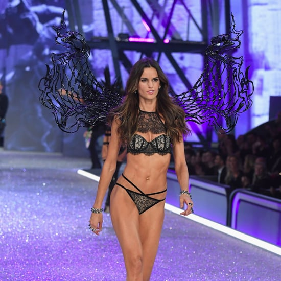 Izabel Goulart at the Victoria's Secret Fashion Show 2016